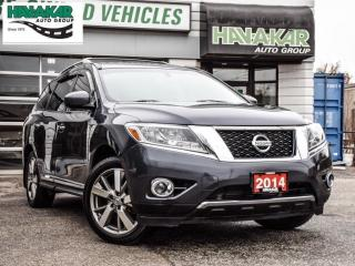 Used 2014 Nissan Pathfinder Platinum Edition for sale in North York, ON