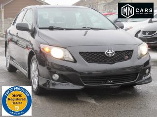 Used 2009 Toyota Corolla S w/NAVIGATION for sale in Ottawa, ON
