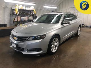 Used 2018 Chevrolet Impala Premier * Dual Pane Sunroof * Navigation *  Leather interior * Phone connect * Voice recognition * Reverse camera * Park assist * Keyless entry/passiv for sale in Cambridge, ON