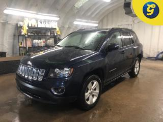 Used 2017 Jeep Compass Sport * 4WD * Sunroof * Leather interior * Phone connect * Voice recognition * Hands free Steering wheel controls * Keyless entry * Heated seats/mirro for sale in Cambridge, ON