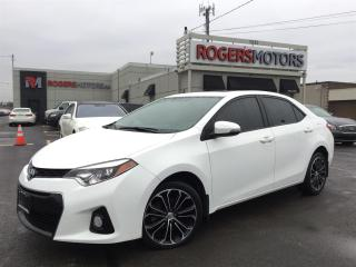 Used 2015 Toyota Corolla S SPORT - NAVI - LEATHER - SUNROOF for sale in Oakville, ON