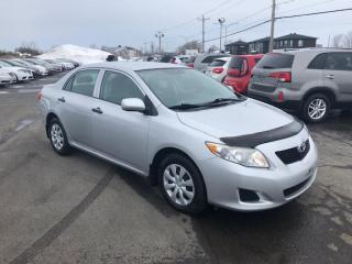 Used 2010 Toyota Corolla CE for sale in Lévis, QC