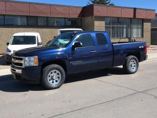 "Used 2009 Chevrolet Silverado 1500 4WD Ext Cab 143.5"" LS for sale in Hamilton, ON"
