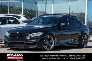 Used 2016 BMW M3 for sale in Lachine, QC