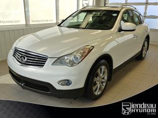 Used 2013 Infiniti EX37 Luxury + Awd + Cuir for sale in Ste-Julie, QC