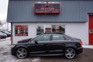 Used 2016 Audi A3 Progressiv + S Line for sale in Lévis, QC