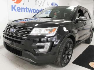 Used 2017 Ford Explorer XLT 4WD, power heated seats, push strart/stop, backup camera, and NAV for sale in Edmonton, AB