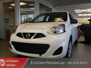 New 2019 Nissan Micra S 4dr FWD Hatchback for sale in Edmonton, AB