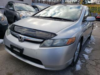Used 2008 Honda Civic Leather-Sunroof-Aux-Alloys for sale in Scarborough, ON