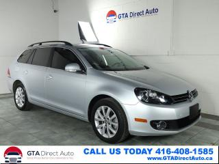 Used 2012 Volkswagen Golf Wagon Comfortline TDI Auto Alloys Bluetooth Certified for sale in Toronto, ON