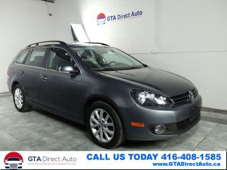 Used 2013 Volkswagen Golf Wagon Comfortline TDI Alloys Heated Auto Wagon Certified for sale in Toronto, ON