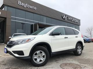 Used 2015 Honda CR-V LX AWD for sale in Barrie, ON