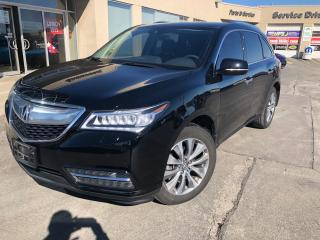Used 2016 Acura MDX Navigation Package for sale in Etobicoke, ON