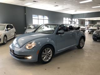 Used 2014 Volkswagen Beetle 2.5L*HIGHLINE*NAVIGATION*CERTIFIED*CONVERTIBLE for sale in North York, ON