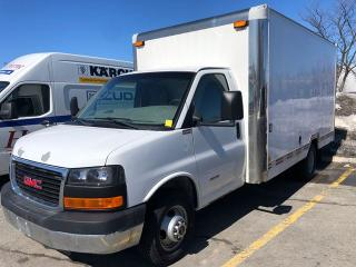 Used 2012 GMC Savana G4500 14 Cube Van 159  WB for sale in Ottawa, ON