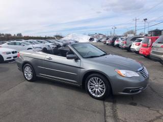 Used 2012 Chrysler 200 Touring for sale in Lévis, QC