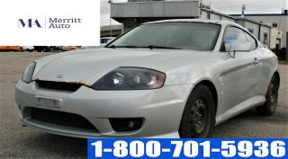 Used 2006 Hyundai Tiburon SE/ MANUAL/ LEATHER/ BEST OFFER for sale in London, ON