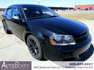 Used 2013 Dodge Avenger SE - FWD for sale in Woodbridge, ON