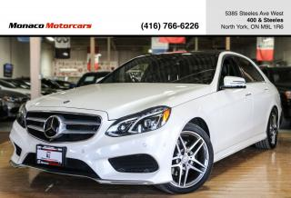 Used 2016 Mercedes-Benz E-Class - DISTRONIC|AMG|PANO|360CAM|NAVI for sale in North York, ON