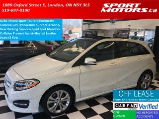 Used 2015 Mercedes-Benz B-Class B250+Camera+GPS+Panoramic Roof+Collision Prevent for sale in London, ON