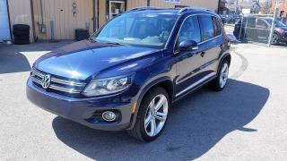 Used 2016 Volkswagen Tiguan R-LINE for sale in Kitchener, ON