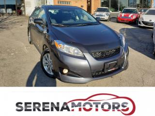 Used 2009 Toyota Matrix MANUAL | ONE OWNER | NO ACCIDENTS | LOW KM for sale in Mississauga, ON