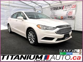 Used 2017 Ford Fusion SE-GPS-Camera-Heated Seats-Remote Start-Apple Play for sale in London, ON