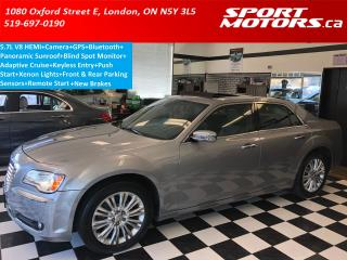 Used 2011 Chrysler 300 300C 5.7L V8 HEMI+GPS+Camera+Pano Roof+Blind Spot for sale in London, ON