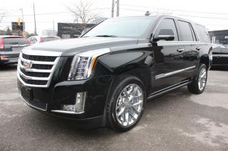 Used 2017 Cadillac Escalade Premium Luxury for sale in Toronto, ON
