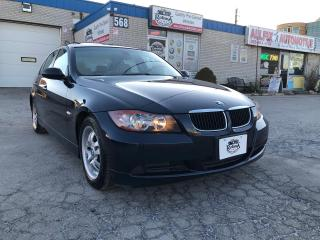 Used 2006 BMW 3 Series 323i Accident Free , Leather , Sunroof for sale in Oakville, ON