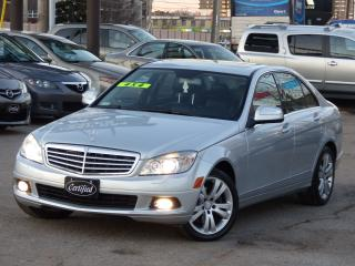 Used 2008 Mercedes-Benz C-Class C300 4MATIC, NO ACCIDENTS, ONE-OWNER, PREMIUM PACK for sale in Mississauga, ON