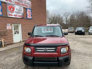 Used 2007 Honda Element EX-P/4WD/2.4L/ONE OWNER/NO ACCIDENT/CERTIFIED for sale in Cambridge, ON