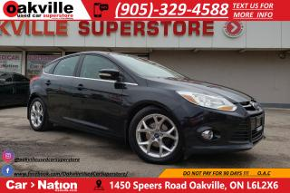 Used 2012 Ford Focus SEL | LEATHER | BLUETOOTH | SUNROOF | HTD SEATS for sale in Oakville, ON