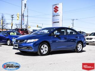 Used 2015 Honda Civic LX for sale in Barrie, ON