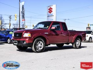 Used 2008 Ford Ranger Sport Super Cab 4x4 ~4.0 V6 ~Power Windows + Locks for sale in Barrie, ON