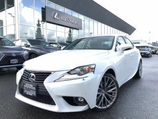 Used 2015 Lexus IS 250 AWD 6A Luxury PKG, Local, Clean Vehicle for sale in North Vancouver, BC