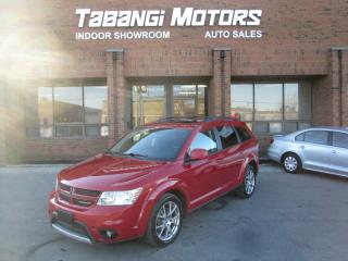 Used 2012 Dodge Journey R/T | DVD | 7-PASSENGER | LEATHER | SUNROOF | REAR CAM | for sale in Mississauga, ON