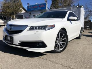 Used 2015 Acura TLX 4dr Sdn FWD V6 Elite NAVI, BACK CAM, LANE DEPT for sale in Brampton, ON