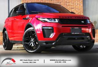Used 2016 Land Rover Evoque HSE Dynamic|Navigation|HUD|Backup|Sky View Sunroof|BSM for sale in Toronto, ON