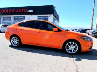 Used 2013 Dodge Dart 2.0 TURBO AUTO BLUETOOTH CERTIFIED 2YR WARRANTY for sale in Milton, ON