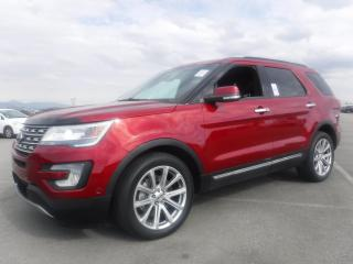 Used 2016 Ford Explorer Limited 4WD 3rd row seating for sale in Burnaby, BC
