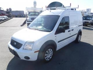 Used 2011 Ford Transit Connect XLT with Bulkhead divider and Ladder Rack for sale in Burnaby, BC