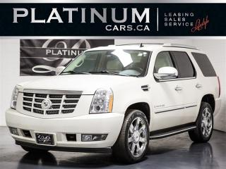 Used 2008 Cadillac Escalade 7 PASSENGER, NAVI, DVD ENTERTAINMENT, Cooled Seats for sale in Toronto, ON