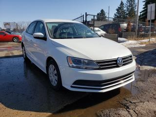 Used 2015 Volkswagen Jetta S-BACK UP CAMERA-ONE OWNER-LOW Monthly PAYMENTS!! for sale in Edmonton, AB