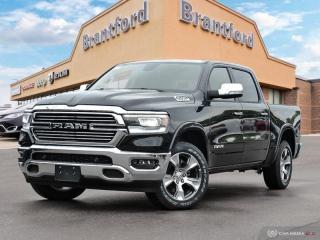 New 2019 RAM 1500 Laramie  - Navigation -  Uconnect - $387.18 B/W for sale in Brantford, ON
