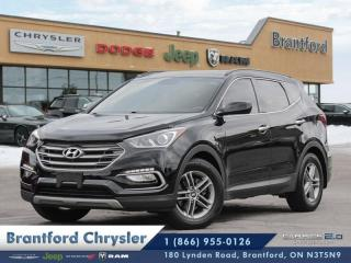 Used 2017 Hyundai Santa Fe Sport 2.4L SE  bluetooth-heated seats-power options for sale in Brantford, ON