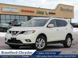 Used 2016 Nissan Rogue AWD 4DR  NAVIGATION-POWER HATCH-BLUETOOTH $156 B\W for sale in Brantford, ON