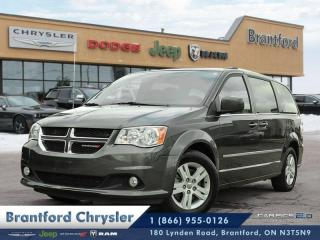 Used 2017 Dodge Grand Caravan Crew  rear heat\ac-fog lamps-power drivers seat $136b\w for sale in Brantford, ON