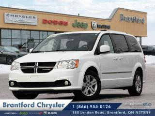 Used 2017 Dodge Grand Caravan Crew  rear heat/ac-power drivers seat-fog lamps $136 b\w for sale in Brantford, ON