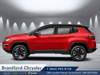 New 2019 Jeep Compass Trailhawk  - Leather Seats - Heated Seats for sale in Brantford, ON
